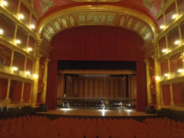Teatro Degollado interior.