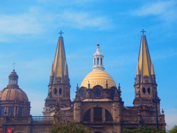 Grand cathedral known as Catedral Guadalajara or Catedral de la Asunción de María Santísima.