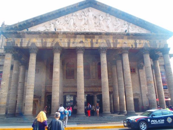 Teatro Degollado exterior.