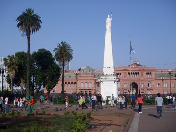 Argentina's Casa Rosada in Buenos Aires