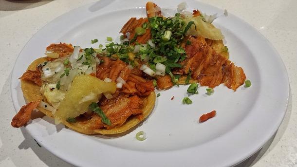 Tacos al pastor #1 & #2 in Mexico City