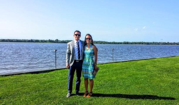 Banks-Selheim wedding at Island House
