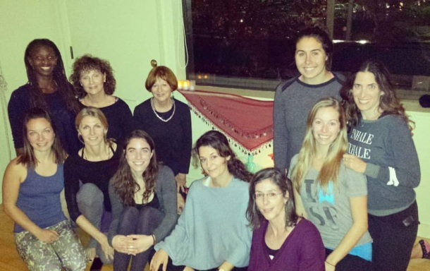 My yoga teachers and classmates at Yoga Works Mill Valley!